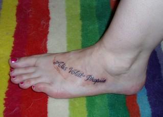 new tattoo--version 1 | by avengingophelia