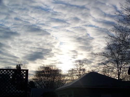 clouds sunrise morningsky