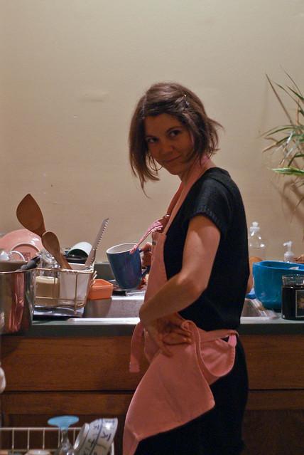 04125 Emily in apron