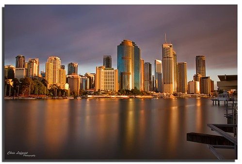longexposure reflection sunrise river australia brisbane queensland kangaroopoint canon1740l nohdr bwnd110 canon7d