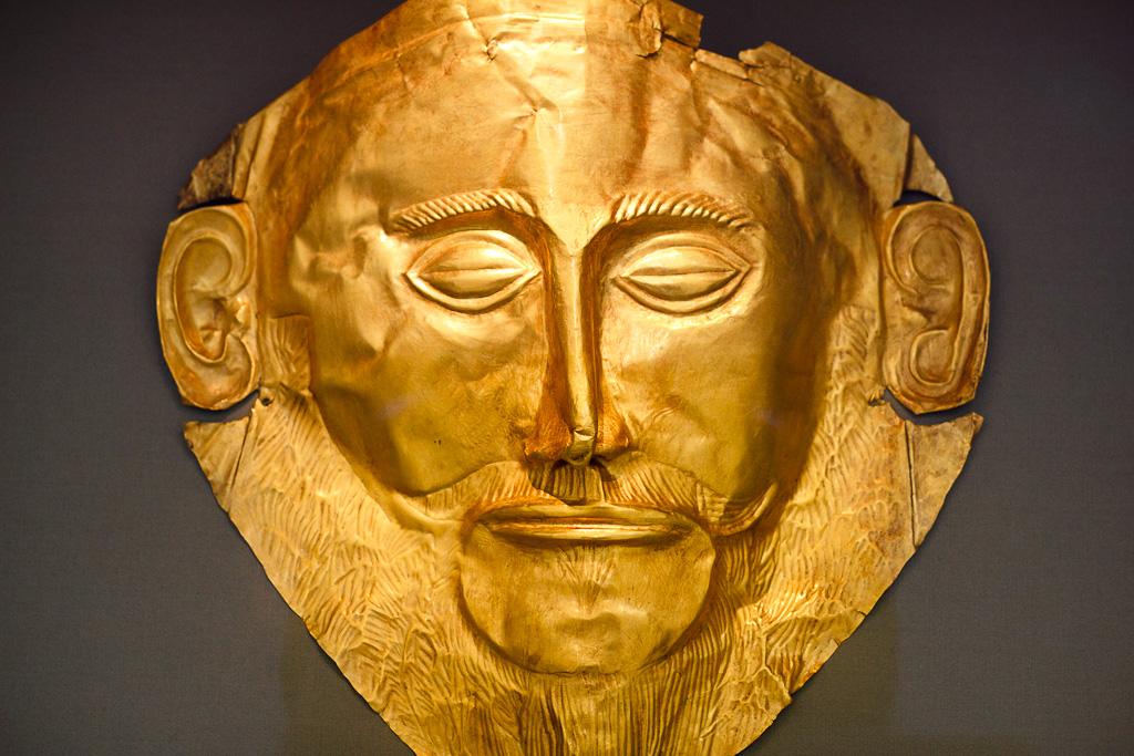 La máscara de Agamenón | Del s. XVI aC | Carlos Blanco
