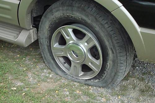 Flat Tire :( | by HeatherLWilliams