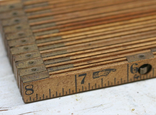 Collapsible ruler