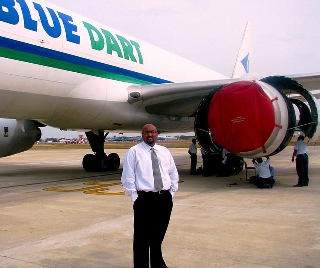 Blue Dart Aviation, Boeing 757, Chennai | The last 4 months … | Flickr