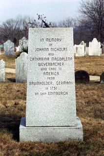 Nicholas Weyerbach monument