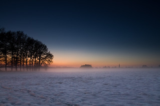 Dutch winter landscape wallpaper | by zoutedrop