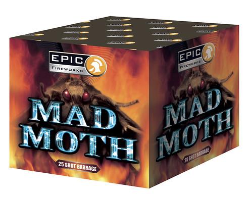 Mad Moth 25 Shot Firework Barrage #EpicFireworks