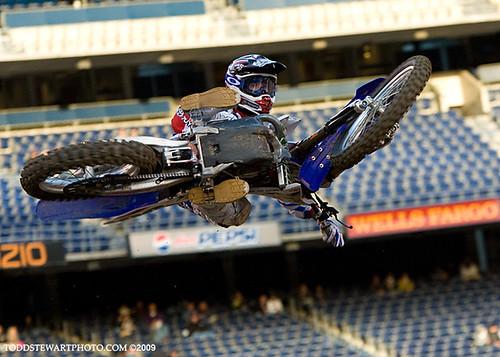 Josh Grant getting flat