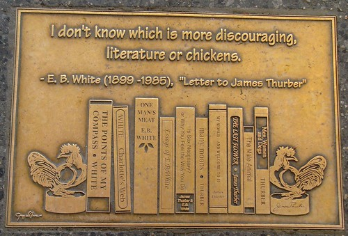 E B White quote | by Kathleen Tyler Conklin