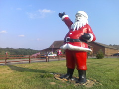 Happy Santa, Santa Claus Indiana | by worldslargestthings