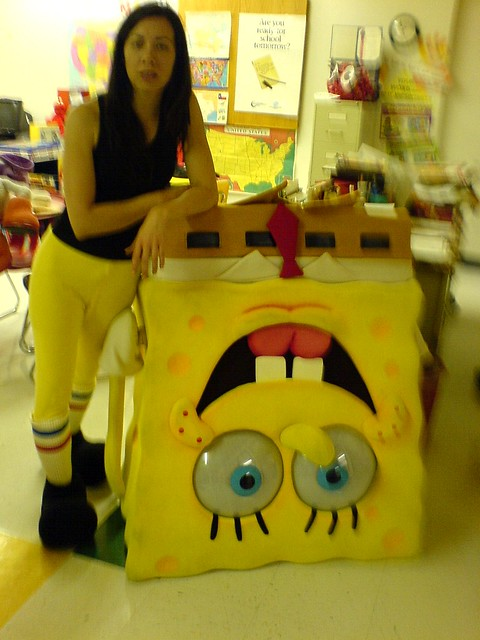 spongebob jackye