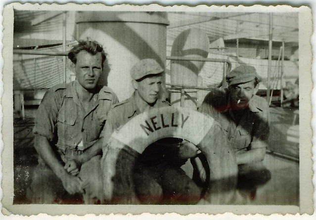 Willy van Bergen, S.S. Waterman 1949