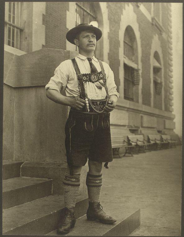 [Bavarian man.]