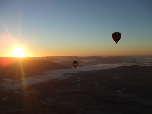 Australië, Yarra Valley, Global Ballooning