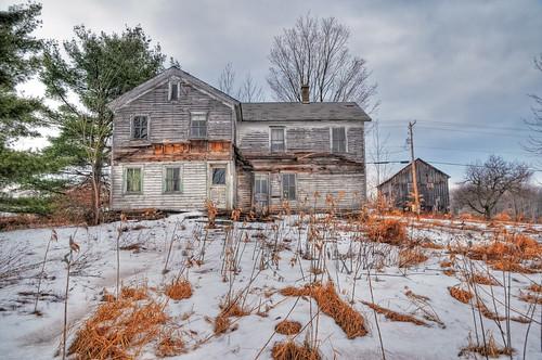 winter house snow barn geotagged pennsylvania decay farm pa hdr mudpig stevekelley whitesvalley