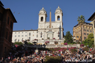 Spanish Steps (Rome in A Day Tour) | by Rome Cabs