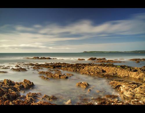 ocean ireland sea seascape strand sunrise dawn head waterford clonea dungarvan helvic helvick helvichead cloneastrand helvickhead