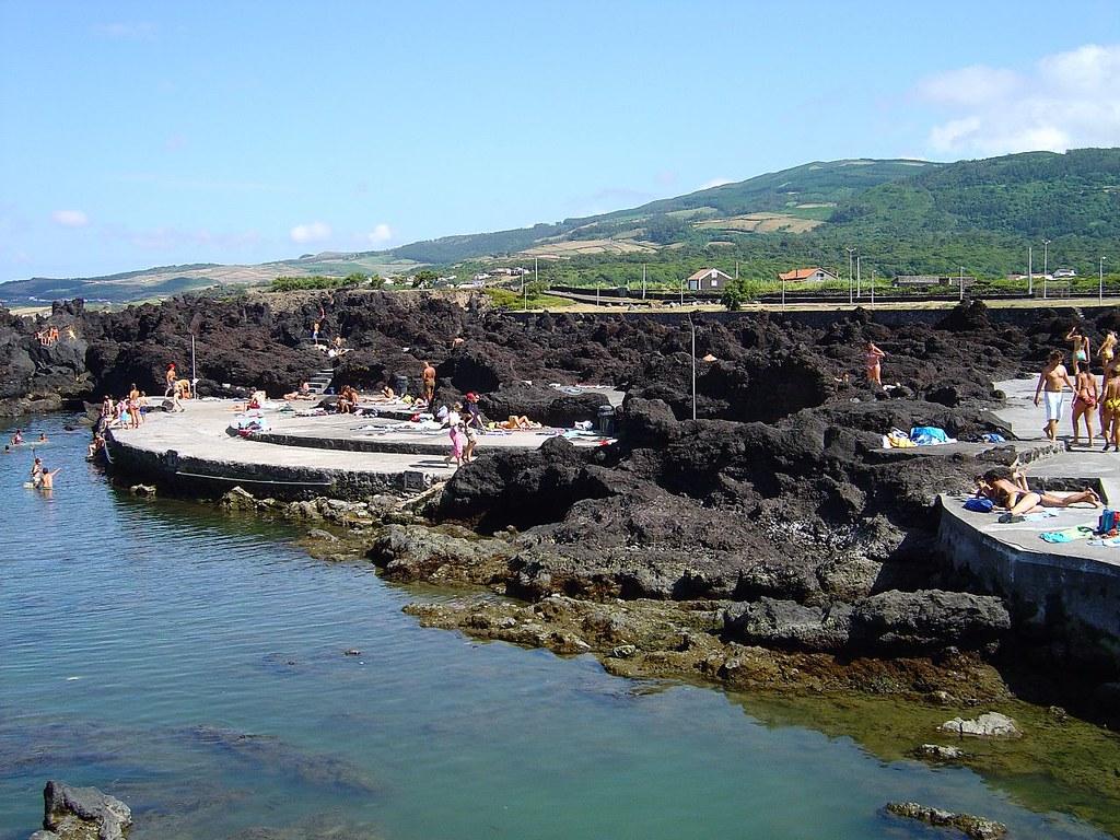 Piscinas Naturais da Ponta dos Biscoitos - Ilha Terceira - Portugal