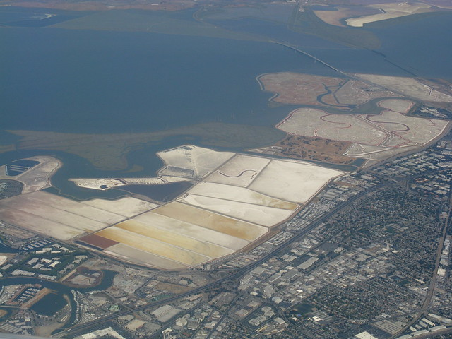 San Francisco Bay Salt Flats