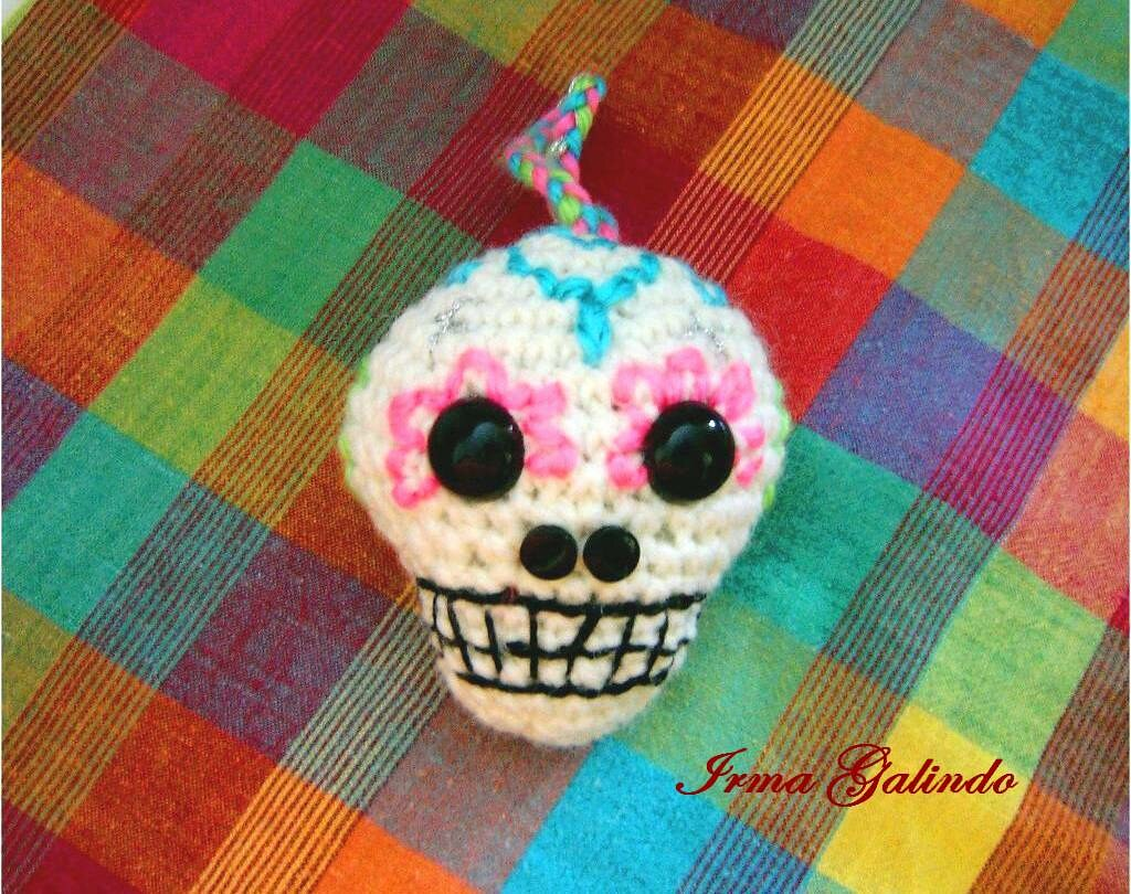 Bob the amigurumi sugar skull posterior | October art challe… | Flickr | 810x1024