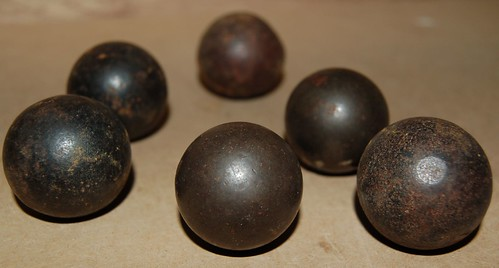 Musket balls - or grinding balls? | by L. J. Hutchinson