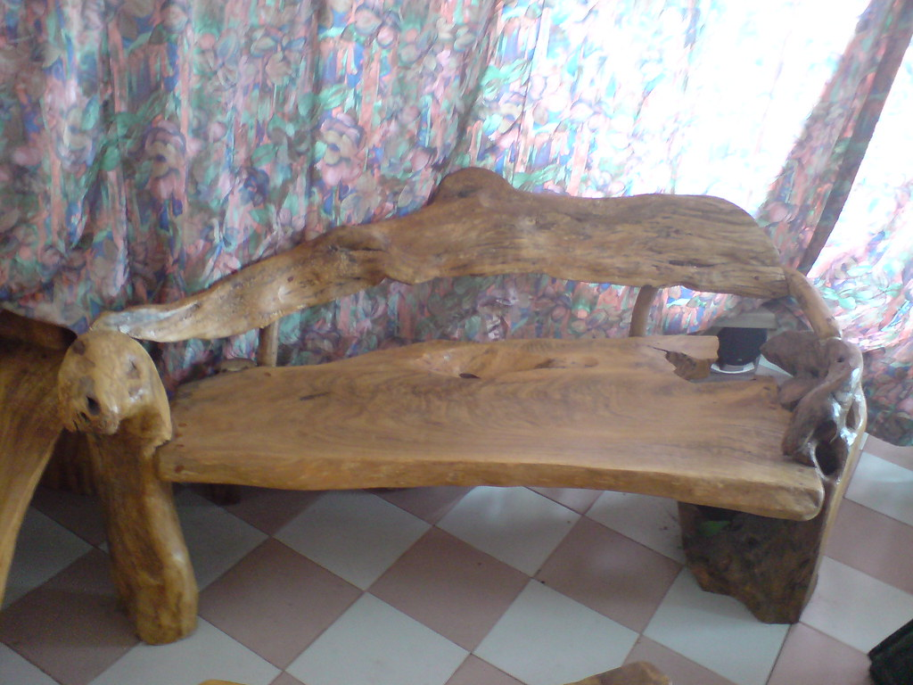 Magnificent Bench 6Ft Lenght Natural Root Of Molave Wood For Sale C Pabps2019 Chair Design Images Pabps2019Com