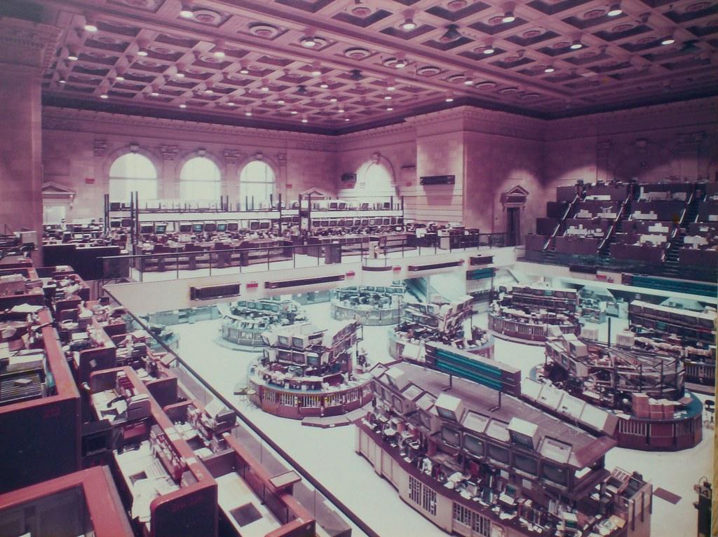 The Old American Stock Exchange Trading Floor; ca. 1980's | Flickr