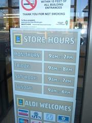 ALDI Store Hours   CRUSIN CONRAD   Flickr