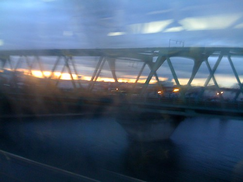 travel japan sunrise river cloudy 日本 nippon mie yokkaichi