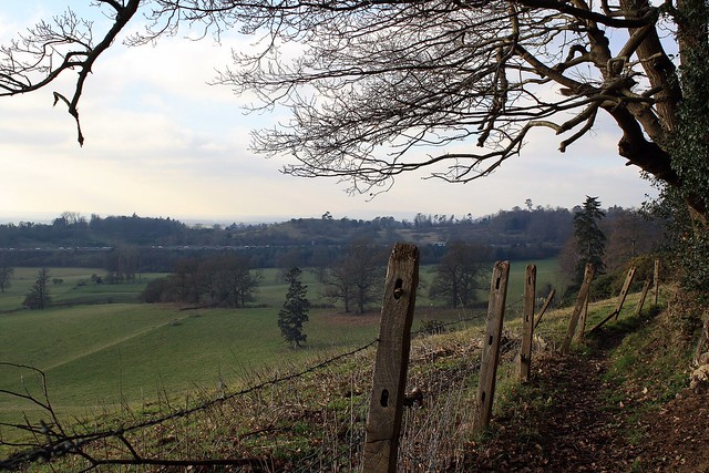 The view from Bletchingley Castle