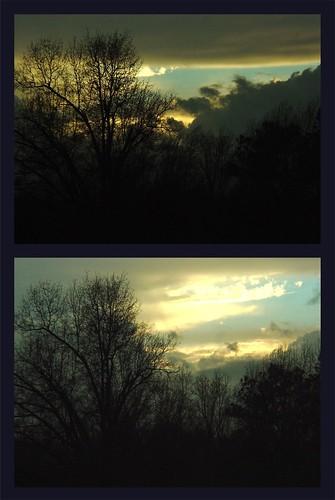 light sunset sunrise horizon storms lastlight firstlight northcarolinathunderstorms