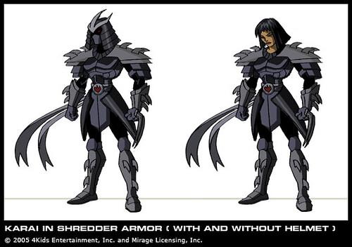 Lady Shredder Karai Courtesy 4kids Tmnt Blog Flickr