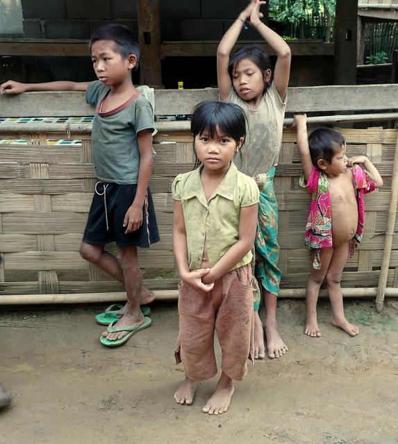 Ban Houy Fai, Khmu village, Laos