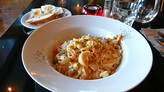 Pasta with seafood | by hsili