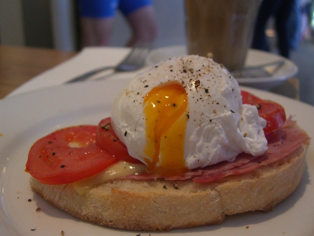 Runny yolk - Racer Eggs - Cafe Racer | Runny yolk - Racer Eg… | Flickr