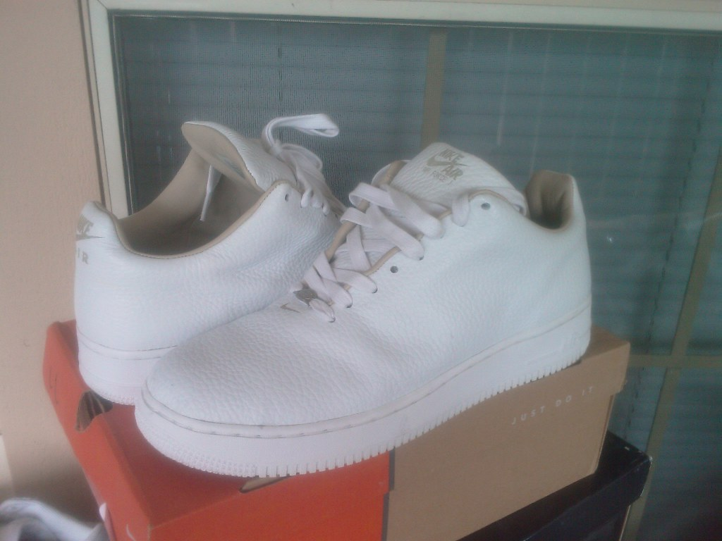 brand new ca300 bd988 ... Nike Air Force 1 Low LTD (Seamless Edition - White)   by who6to