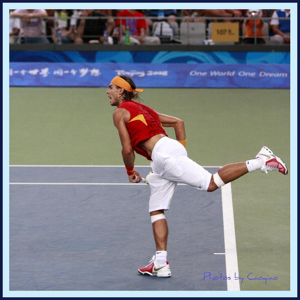 2008北京奥运会网球_纳达尔教你打网球--特立独行 | 2008年8月17日,北京奥运会男子 ...