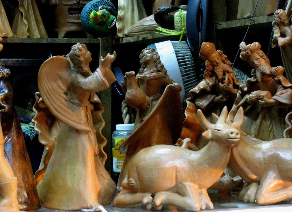 Artesanía De Barro De Chinautla Figuras Para El Nacimient Flickr