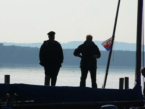 fährmann ralfschröer see silhouette steinhude steinhudermeer ralfschröer