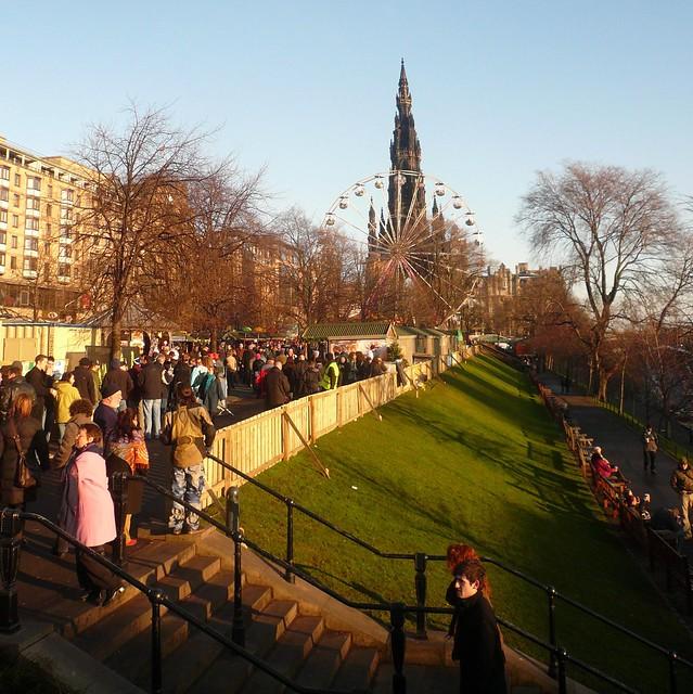 Edinburgh: Princes Street Winter Gardens
