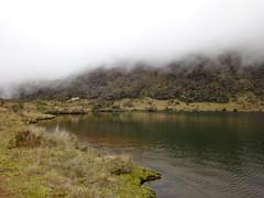 Base camp with Lake Piunde