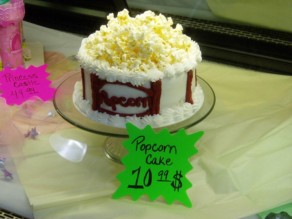 Tasty Popcorn Cake