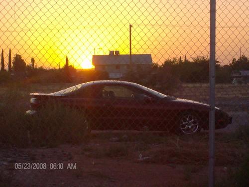 sol sunrise burgundy carro firebird pontiac 1995