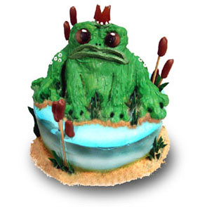 Brilliant Frog Birthday Cake Lemon Ginger Pound Cake With Gingernut Flickr Funny Birthday Cards Online Necthendildamsfinfo