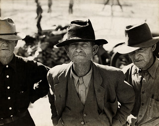 Dorothea Lange: Ex-tenant farmer on relief grant in the Imperial Valley, California, 1937