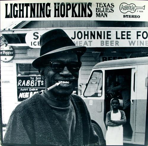 Lightning Hopkins - Texas Blues Man (Arhoolie 1034) | by kevin dooley
