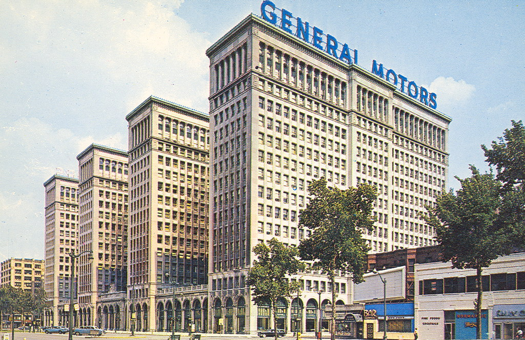 Detroit MI GM's Old Headquarters The General Motors Buildi