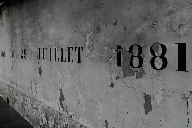 LOI DU 28 JUILLET 1881