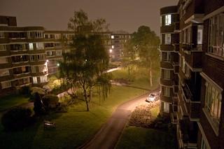 Ruskin Park House at Night