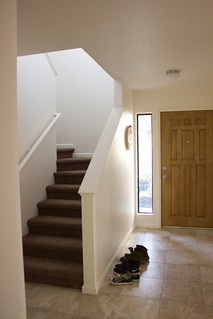 Front door and stairs | by laura pants